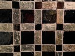 glass and natural stone mosaic