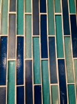 Linear glass tile