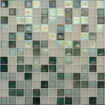 shimmery glass tile mosaic
