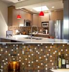 custom glass backsplash in Vancouver. Designer tile in Vancouver