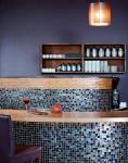 glass tile for bar
