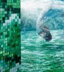 pool tile, glass tile, glass mosaic tile